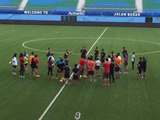 Real Madrid Foundation Technification School supporting Game for Life and Sports Singapore