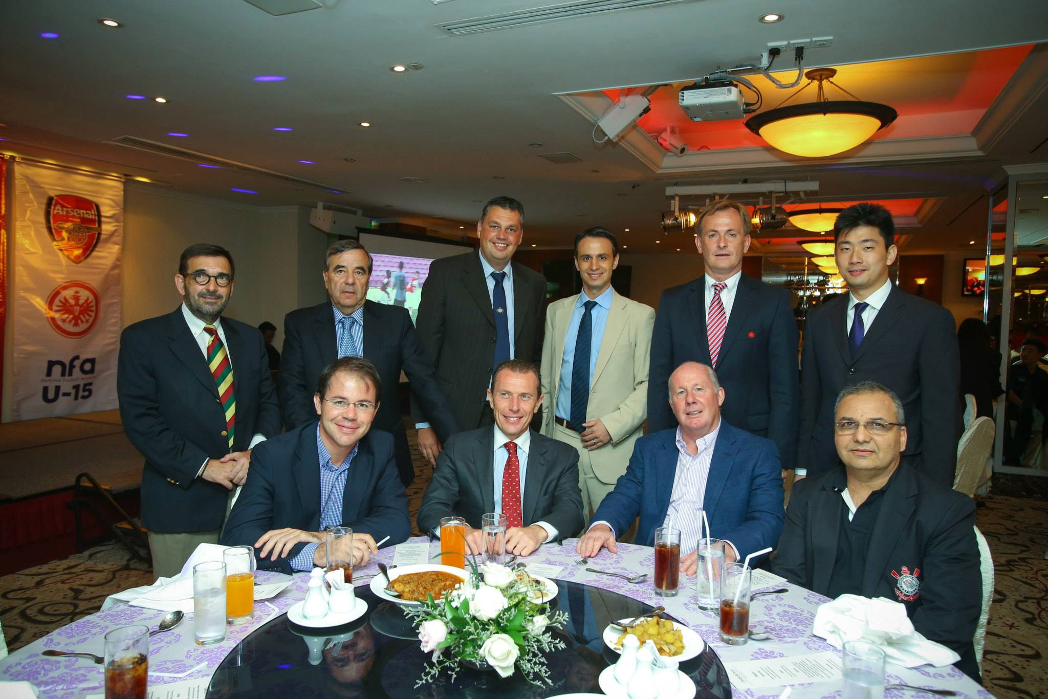 During 25th Lion City Cup Gala Dinner