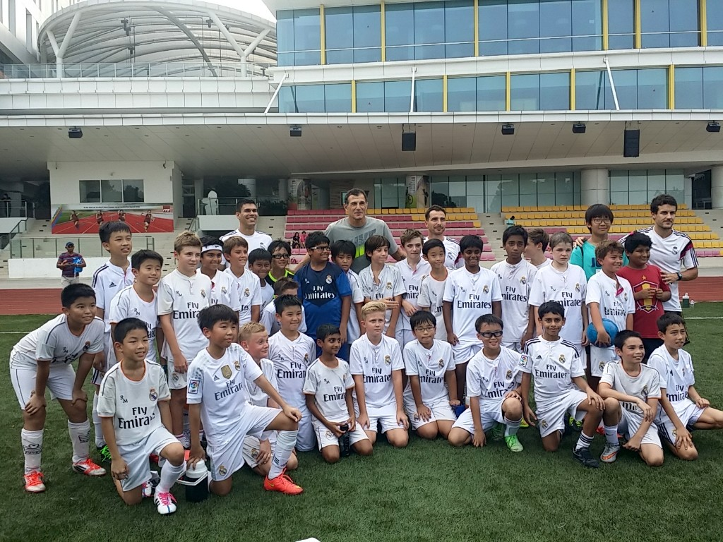 Igor with Aleksandar Duric and our players at ITE Collage Central